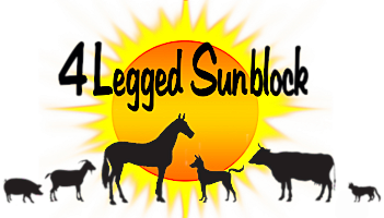 4 Legged Sunblock | Prevent Equine & Animal Sunburn